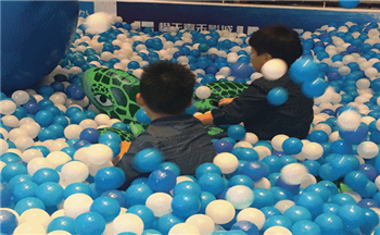 A stunning attack, the Dreamy Whale Island children's park opened in Shanshui-Yuanzhu Luneng Residential Area