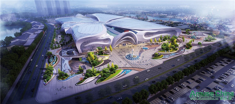 Wuxi WANDA CULTURAL TOURISM CITY is expected to opened in 2019