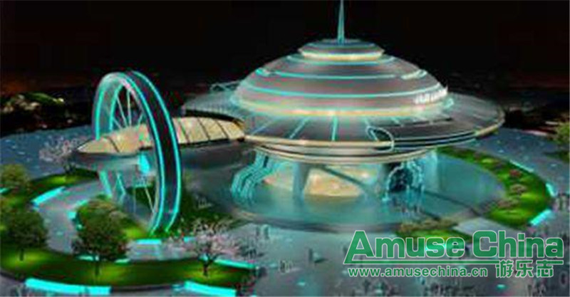Heilongjiang Fenghuangshan scenic area will build the UFO theme park!