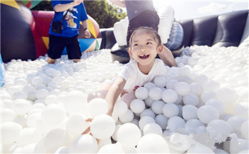 The world largest air-cushion park, ART ZOO has came to Shenzhen