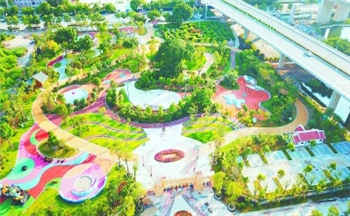 Recently, the main part of Longhai Yue port Children Park has been basically completed, and related supporting facilities have also been purchased.