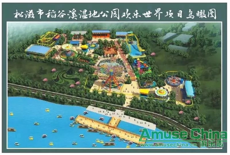 A large amusement park in Jingzhou, Hubei Province is expected to be opened next year!